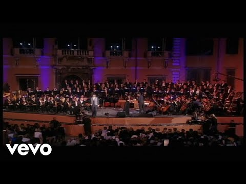 Andrea Bocelli  Time To Say Goode   From Piazza Dei Cavalieri, Italy  1997