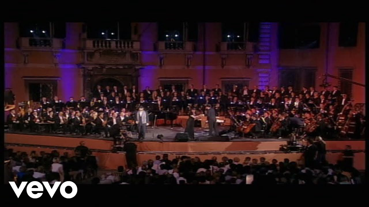 Andrea Bocelli - Time To Say Goodbye (Official Video) - Live From Piazza Dei Cavalieri, Italy / 1997