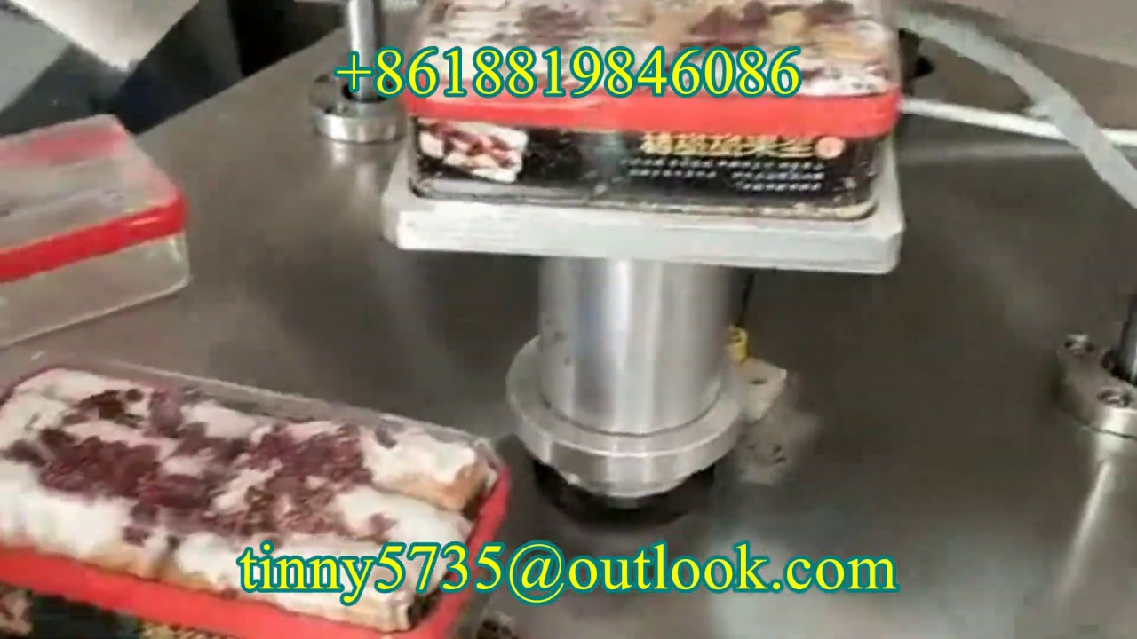 dessert Jar tape sealing machine,chocolate Jar tape sealing machine,Cake  Jar tape sealing machine