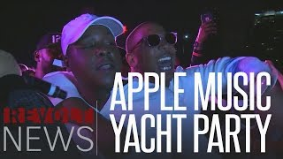 rmc 2016   apple music yacht party