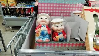 Пятёрочка распродажа елечных игрушек! Новогодние сувениры.