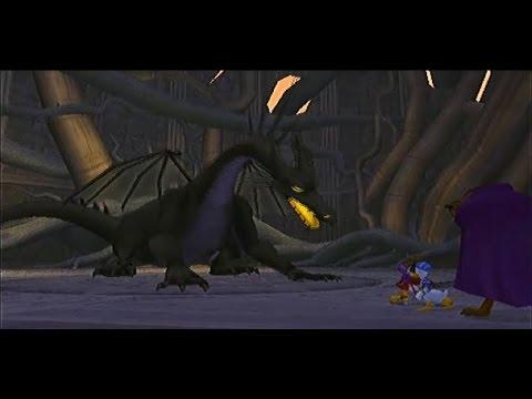 Kingdom Hearts (COM) Boss #14 - Dragon Maleficent - YouTube