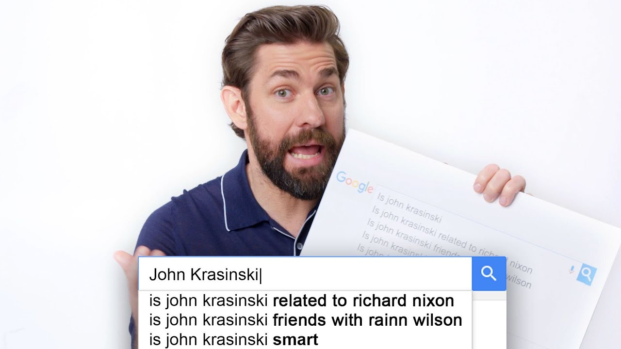 John Krasinski Answers the Web\'s Most Searched Questions | WIRED ...