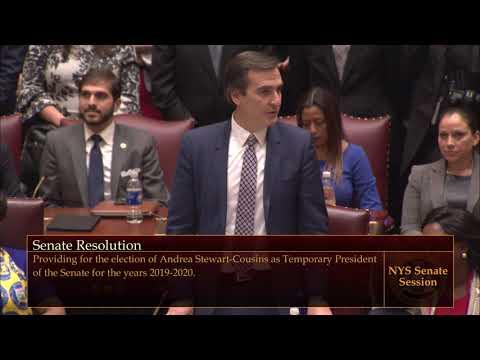 Senator Mike Gianaris supports Andrea Stewart-Cousins for Senate Majority Leader Mp3