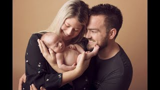 Newborn Session Video Making Of -Baby Axel