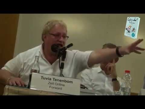 """German Anti-Semitism Has Nothing to do with Israel!"" Tuvia Tenenbom"