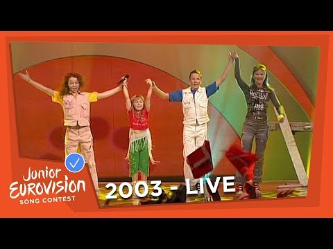 Volha Satsiuk - Tantsuy - Belarus - 2003 Junior Eurovision Song Contesst