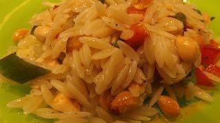 Asian Style Orzo Pasta Salad