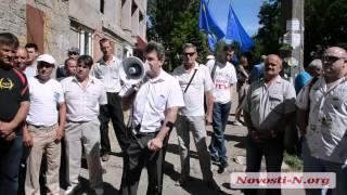 Видео Новости-N: Паламарюк пришел на костылях в лесхоз