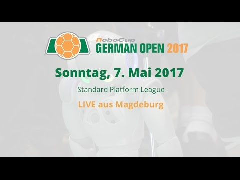 RoboCup German Open SPL – So, 7. Mai 2017 – live aus Magdeburg
