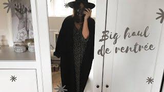 BIG FASHION TRY-ON HAUL   Septembre (Zara, Shein, American Vintage, Sézane, Lack of Color, ...)