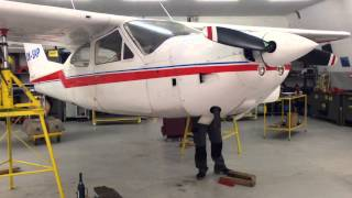 Cessna 177 Cardinal gear swing test