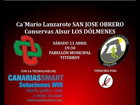 BALONMANO: Ca´Mario Lanzarote San José Obrero - Conservas Alsur Los Dólmenes