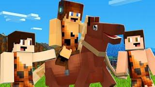 CAVALO SELVAGEM !! - Minecraft Primitivo #13