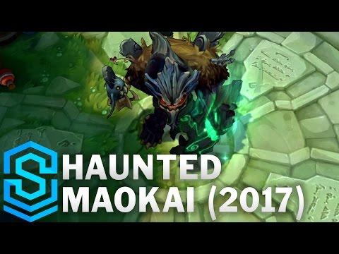 Haunted Maokai (2017) Skin Spotlight - League of Legends