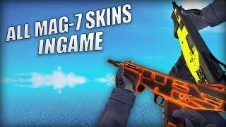 CS:GO ALL MAG-7 SKINS INGAME!!! | Skin showcase