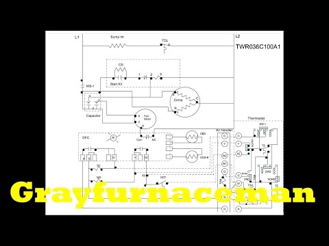 The heat pump wiring diagram, overview - YouTube Nirvana Heat Pump Wiring Diagram on