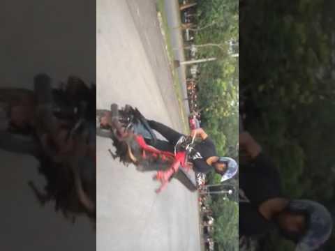 EXTRIME #1 Aksi FREESTYLE Tanpa Roda,  stuntrider x IFC SOLO Ervan Yulianto Manahan.