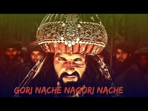 Gori Nache Re Nagori Nache funny Padmavati movie song khalibali 😋