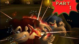 Donkey Kong Jungle Beat (Wii) Walkthrough Part 1