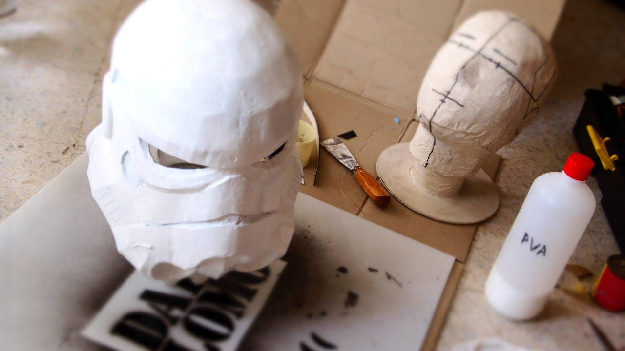 Dali-Lomo: How to make Star Wars: Stormtrooper Helmet DIY