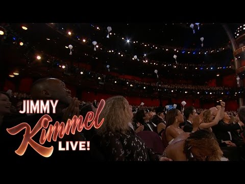 Thumbnail: Jimmy Kimmel Drops Candy for Celebrities at the Oscars