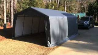 Portable Shelters, Canopies And Carports From Globalindustrial.com
