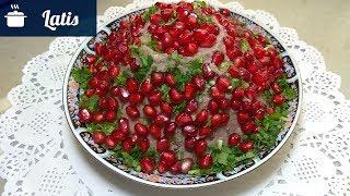 Вкусный и сытный салат из фасоли!