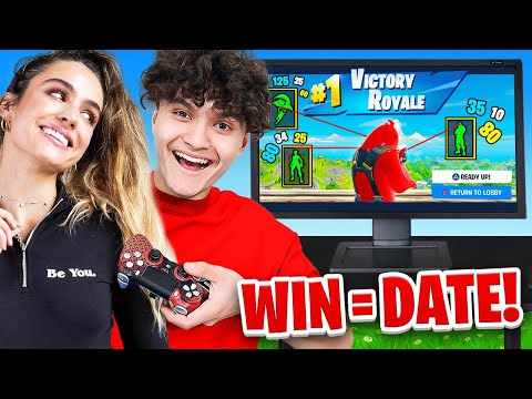 IF YOU WIN FORTNITE, I Will DATE You (Sommer Ray & FaZe Jarvis)