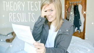 MY THEORY TEST RESULTS | justmollie