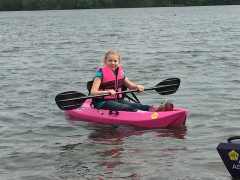 Lifetime Wave Youth Kayak - Paddle Clip Installation