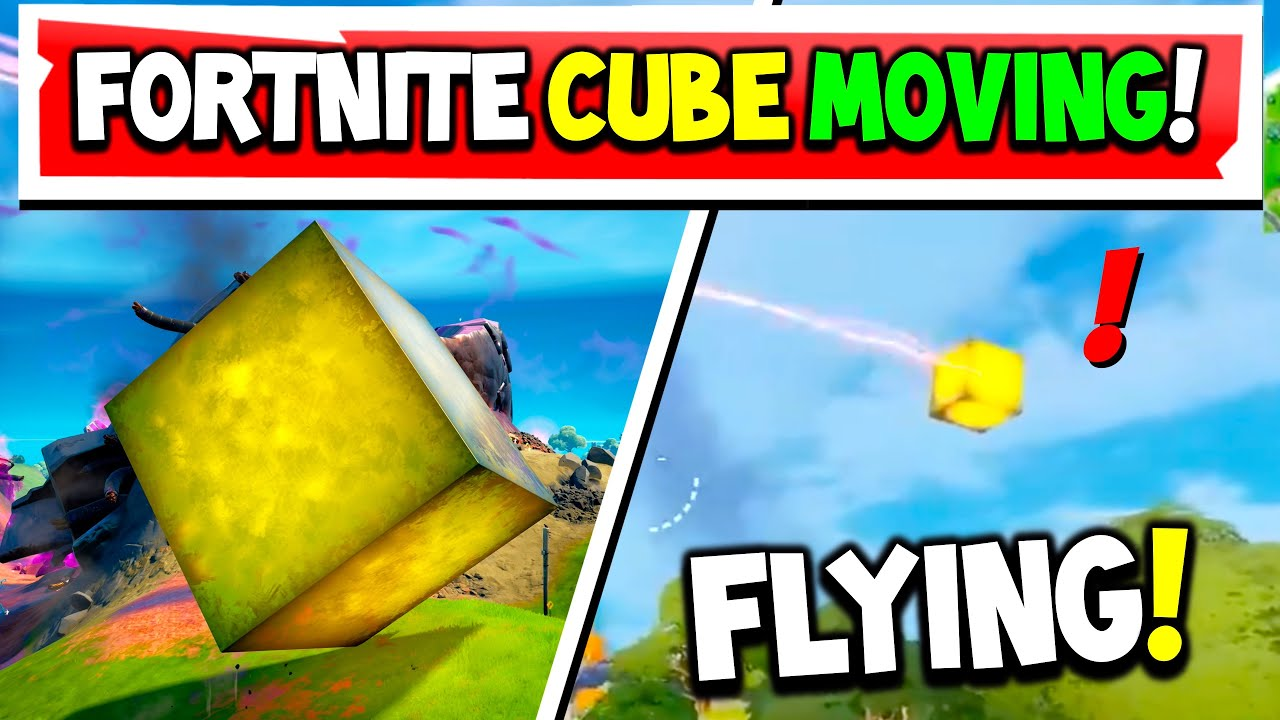 Download Gold Kevin The Cube is Moving but Not Like a Cube! (Fortnitemares 2021)