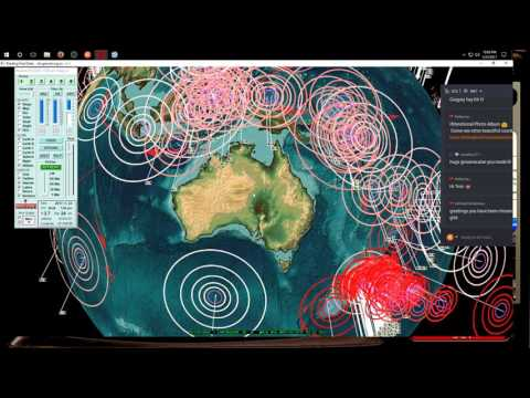 5/25/2017 -- Nightly Earthquake Update + Forecast -- Guam hit as expected -- Unrest event day 5 of 7