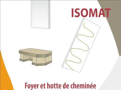 Isomat kit d 39 isolation pour foyer et hotte de chemin e - Decoration hotte de cheminee ...