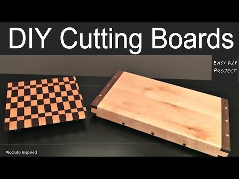 DIY Butcher Block & End Grain Cutting Board // How to Make - Woodworking