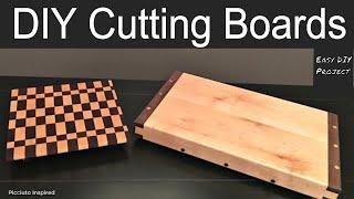 DIY Butcher Block & End Grain Cutting Board // How to Make - Woodworking