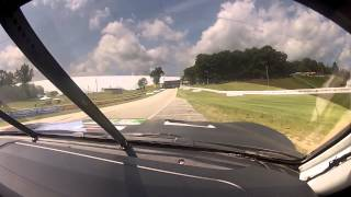 Bill Auberlen takes you on a lap of Road America in the No. 55 BMW at Road America