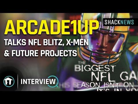 Arcade1Up Talks NFL Blitz, X-Men & Future Projects from GamerHubTV