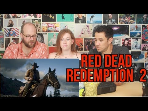 Red Dead Redemption 2 Gameplay Reveal Trailer - REACTION!