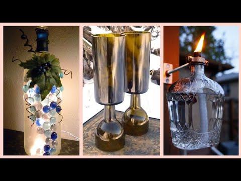 unique-bottle-craft-decoration-ideas-for-home-decor