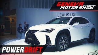 Lexus UX Crossover - The hybrid compact : Geneva Motor Show 2018 : PowerDrift