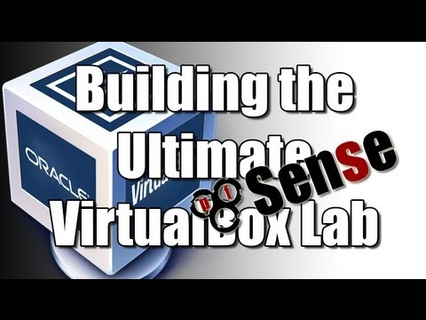 Building the Ultimate VirtualBox Lab - Install pfSense