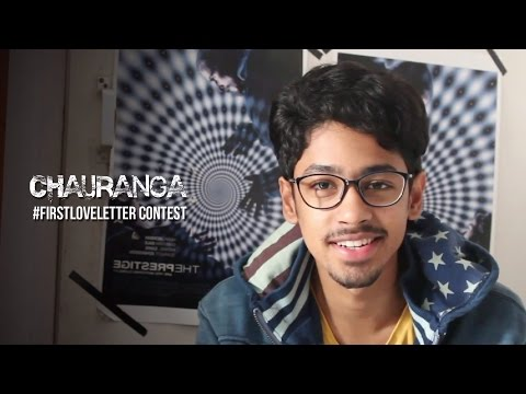 #FirstLoveLetter - Riddhi Sen (Chauranga)