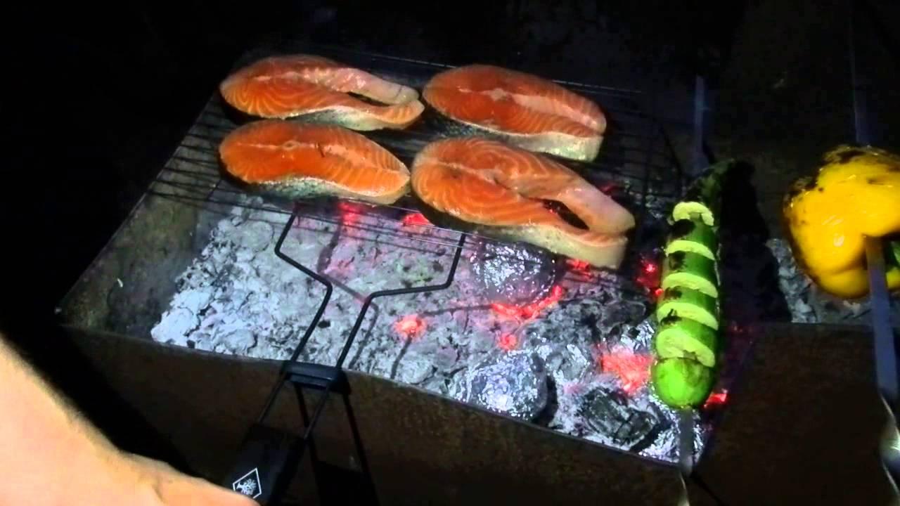 Мангал для рыбы как сделать 84