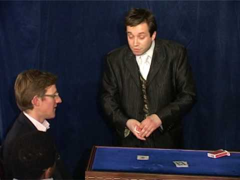 Magic Circle Close-Up Magician of the Year 2010 Winner Matthew Garrett