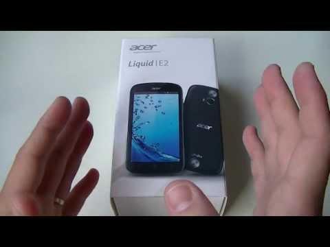 Acer Liquid E2 - déballage | par Top-For-Phone.fr