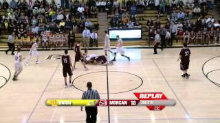 2015 High School Basketball: Morgan @ Union Boys Varsity