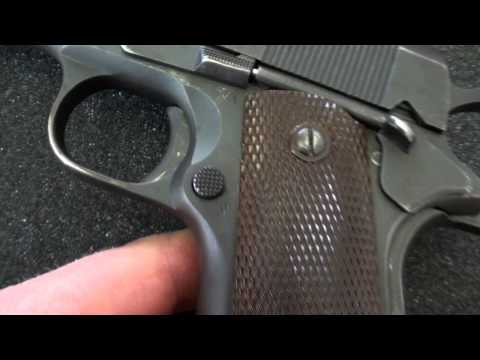 Lda pistol detail strip remarkable message