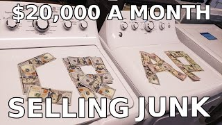 $20,000 a month selling other people's trash