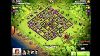 Clash of Clans - ENORME BUTAIN! + (bonus troll base)